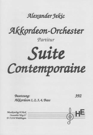 Suite Contemporaine, Alexander Jekic, Mittelstufe, Wertungsstück, Akkordeon-Orchester, Akkordeon-Ensemble