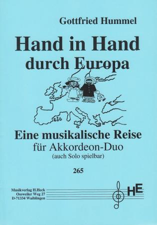 Hand-in-Hand durch Europa